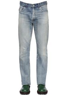 Balenciaga 20cm Bootcut Cotton Denim Jeans