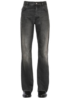 Balenciaga 24.5cm Boot Cut Washed Denim Jeans
