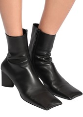 Balenciaga 60mm Moon Leather Ankle Boots