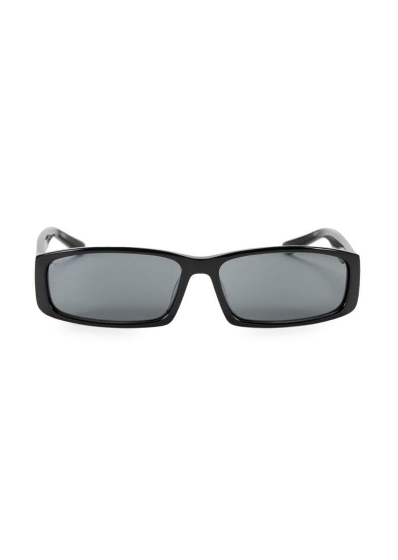 Balenciaga 60MM Oblong Sunglasses