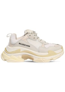 Balenciaga 60mm Triple S Nylon & Leather Sneakers