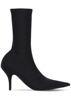 Balenciaga 80mm Knife Spandex Ankle Boots