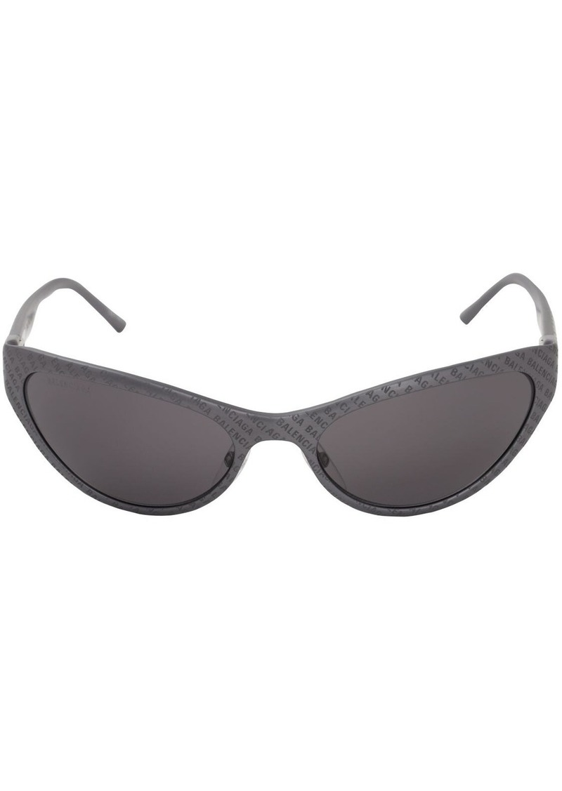 Balenciaga Aluminum Cat Sunglasses