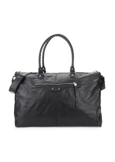 Balenciaga Arena Leather Weekender Bag