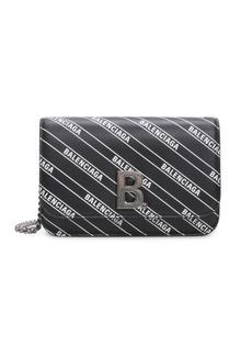 Balenciaga B Leather Wallet-On-Chain