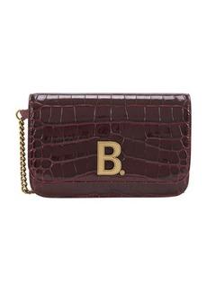 Balenciaga B wallet on chain