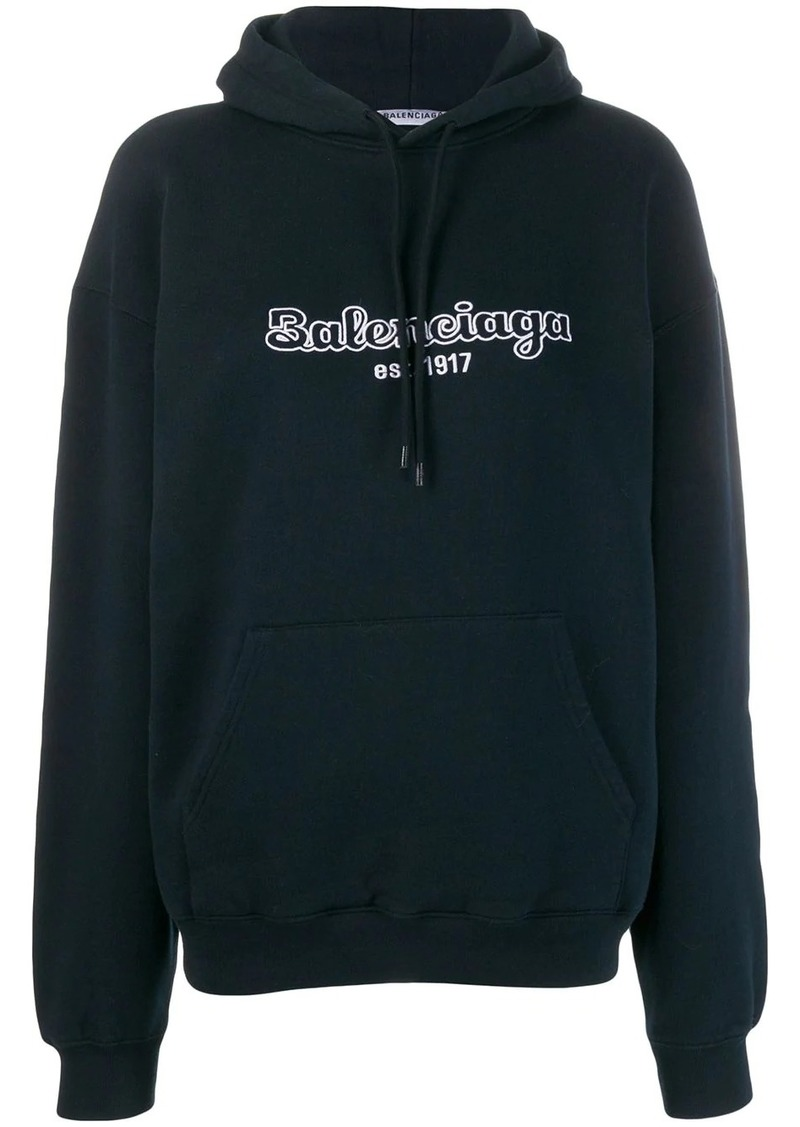 Balenciaga Back pulled hoodie