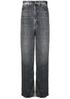Balenciaga elongated baggy jeans