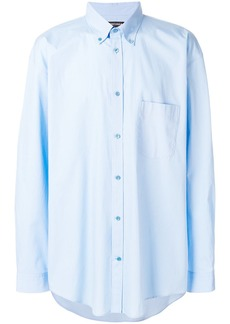 Balenciaga Bal button down shirt