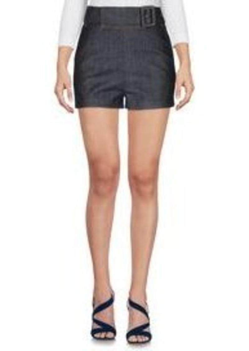 BALENCIAGA - Denim shorts