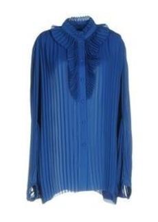 BALENCIAGA - Solid color shirts & blouses