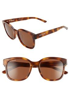 Balenciaga 52mm Square Sunglasses
