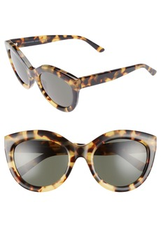 Balenciaga 54mm Cat Eye Sunglasses