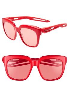 Balenciaga 54mm Square Sunglasses