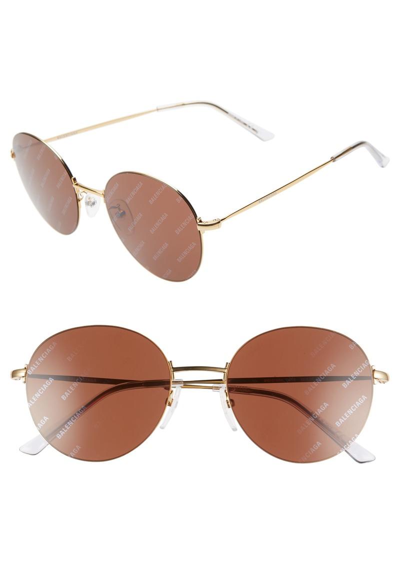 fea9c63722ac Balenciaga Balenciaga 55mm Round Sunglasses | Sunglasses