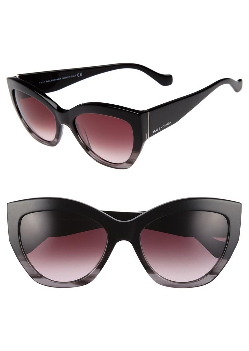 b73c3bad35 Balenciaga Balenciaga 56mm Cat Eye Sunglasses