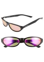 Balenciaga 59mm Cateye Sunglasses