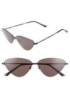 Balenciaga 61mm Cat Eye Sunglasses
