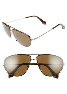 Balenciaga 62mm Aviator Sunglasses