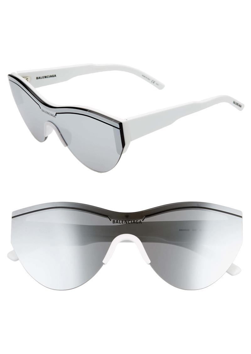 Balenciaga 99mm Shield Sunglasses