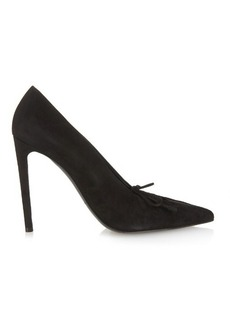 Balenciaga All Time Low high-heel suede pumps
