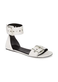 Balenciaga Ankle Strap Flat Sandal (Women)