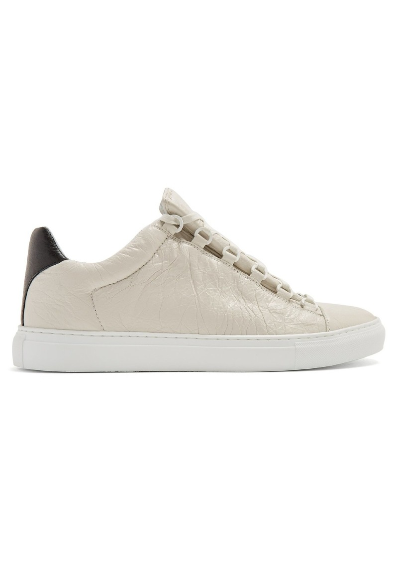 de556b92a Balenciaga Balenciaga Arena Low Top Tonal Sole, Black Heel | Shoes