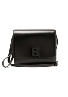 Balenciaga B-logo leather cross-body bag