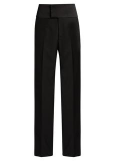 Balenciaga Bachette crepe tuxedo trousers