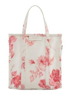 Balenciaga Bazar Shopper Small AJ Floral-Print Tote Bag