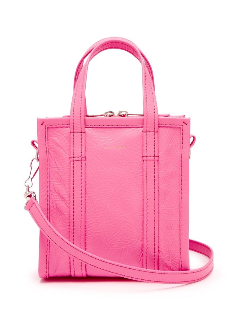 Balenciaga Bazar shopper XXS leather cross-body bag