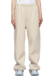 Balenciaga Beige Baggy Lounge Pants