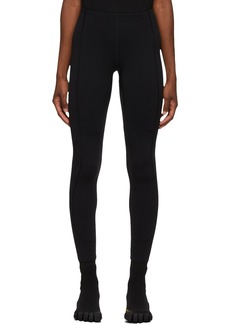 Balenciaga Black Fleece Scuba Leggings