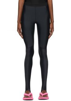 Balenciaga Black High-Rise Leggings