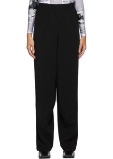 Balenciaga Black Snapped Lounge Pants