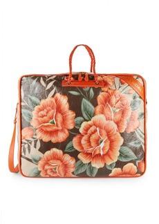 Balenciaga Blanket Floral Weekender Bag