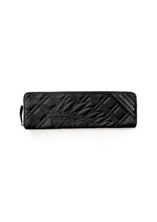 Balenciaga Blanket Quilted Leather Clutch Bag