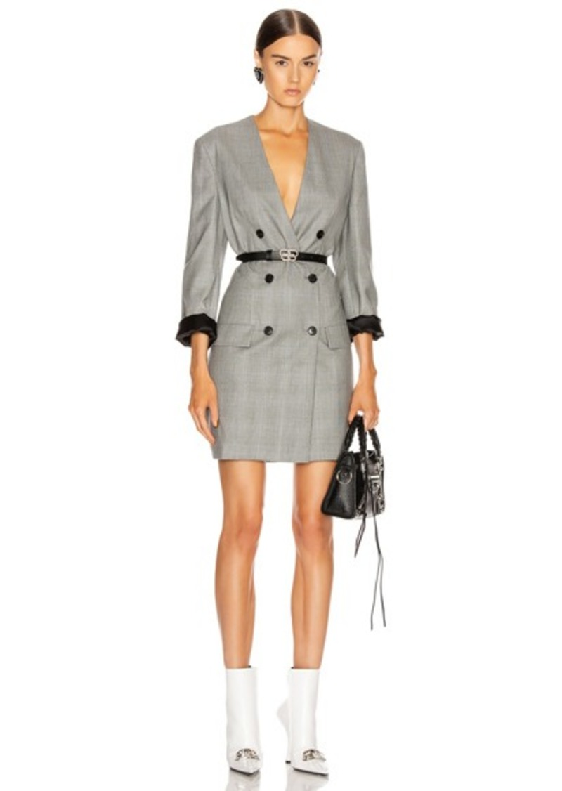 Balenciaga Blazer Dress
