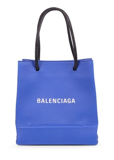 Balenciaga Blue Shopping Tote Xxs