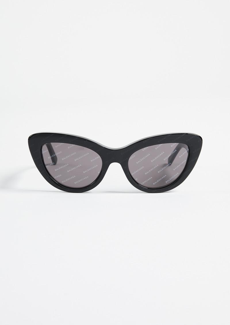 35822f023bc6 Balenciaga Balenciaga Bold Cat Eye Logo Sunglasses | Sunglasses