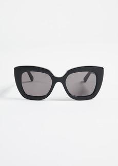 Balenciaga Bold Frame Sunglasees