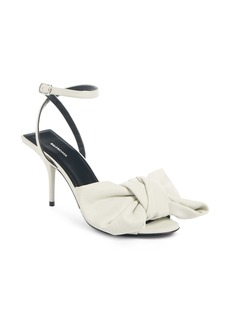 Balenciaga Bow Ankle Strap Sandal (Women)