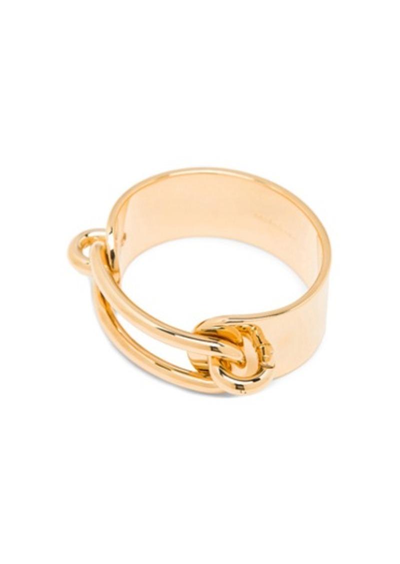 Balenciaga Brass Chain Bracelet