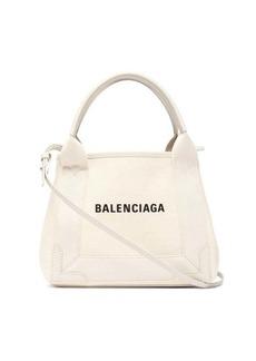 Balenciaga Cabas XS logo-print tote bag