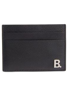 Balenciaga Calfskin Leather Card Holder