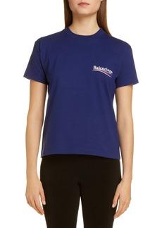 Balenciaga Campaign Logo Cotton Tee