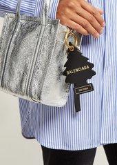 Balenciaga Car air-freshener leather key ring
