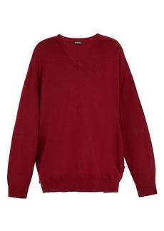 Balenciaga Cashmere V-neck sweater