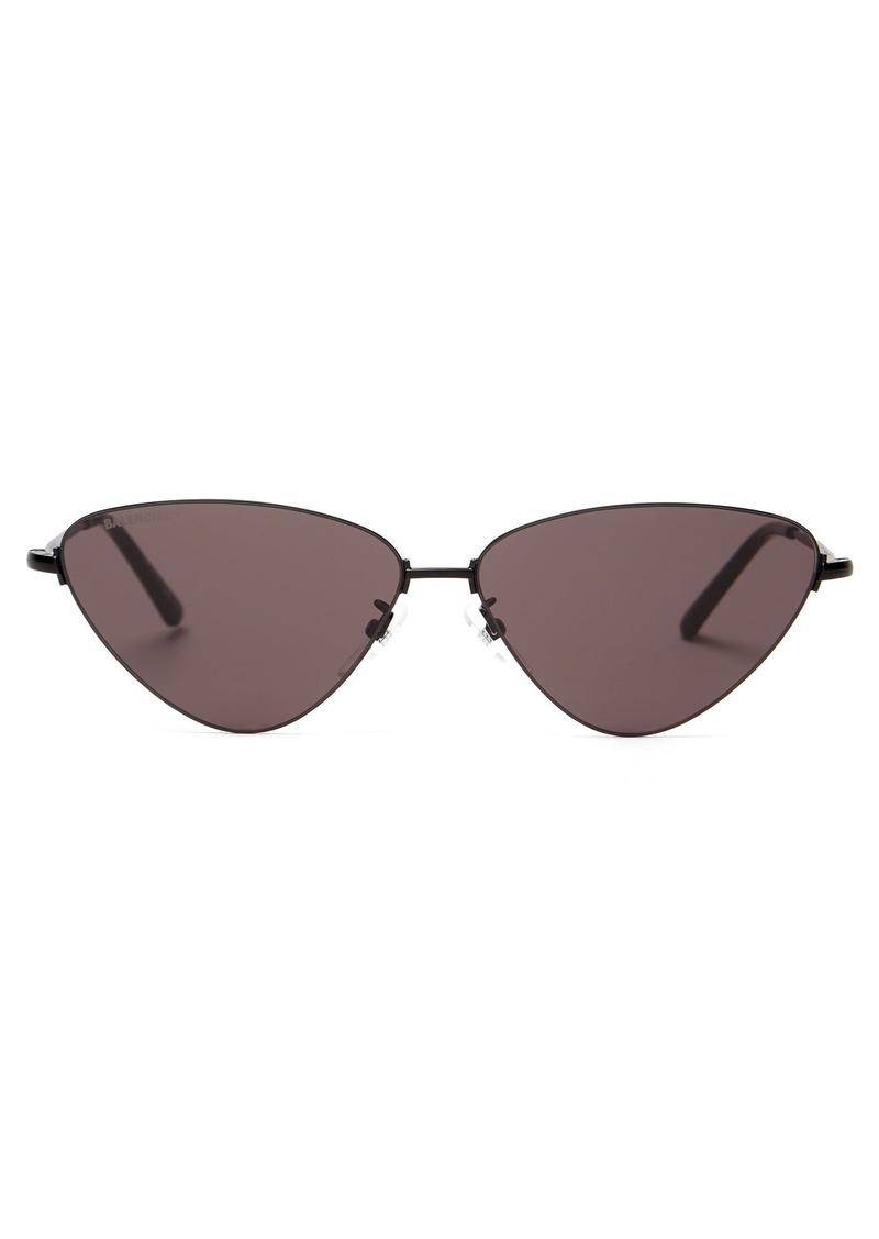 Balenciaga Cat-eye metal sunglasses