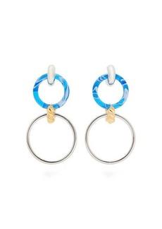 Balenciaga Chain-link drop earrings